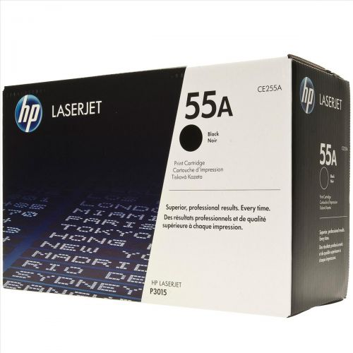 Hewlett Packard [HP] No. 55A Laser Toner Cartridge Page Life 6000pp Black Ref CE255A