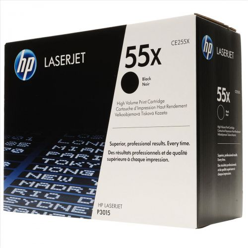 Hewlett Packard [HP] No. 55X Laser Toner Cartridge Page Life 12500pp Black Ref CE255X
