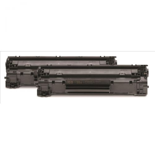 Hewlett Packard [HP] No. 35A Laser Toner Cartridge Page Life 3000pp Black Ref CB435AD [Pack 2]