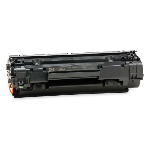 Hewlett Packard [HP] No. 36A Laser Toner Cartridge Page Life 2000pp Black Ref CB436AD [Pack 2]