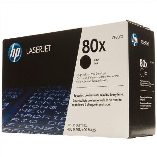 Hewlett Packard [HP] No. 80X Laser Toner Cartridge Page Life 6800pp Black Ref CF280X