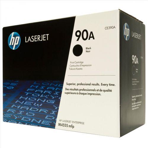 Hewlett Packard [HP] No. 90A Laser Toner Cartridge Page Life 10000 Black Ref CE390A