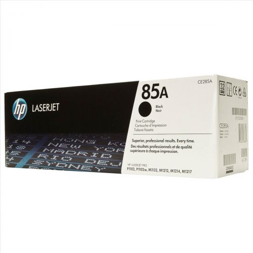Hewlett Packard [HP] No. 85A Laser Toner Cartridge Page Life 1600pp Black Ref CE285A