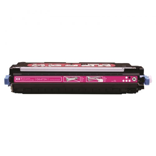 Hewlett Packard [HP] No. 502A Laser Toner Cartridge Page Life 4000pp Magenta Ref Q6473A