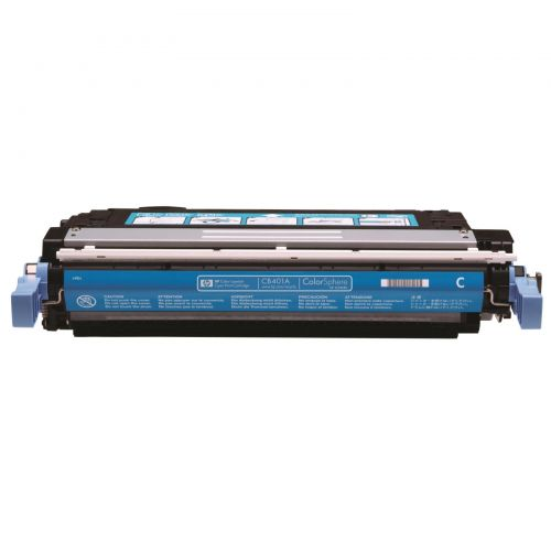 Hewlett Packard [HP] No. 642A Laser Toner Cartridge Page Life 7500pp Cyan Ref CB401A