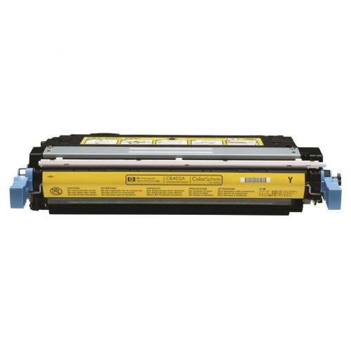 Hewlett Packard [HP] No. 642A Laser Toner Cartridge Page Life 7500pp Yellow Ref CB402A