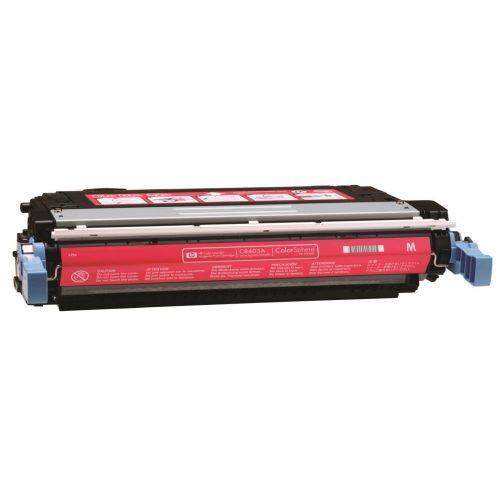 Hewlett Packard [HP] No. 642A Laser Toner Cartridge Page Life 7500pp Magenta Ref CB403A