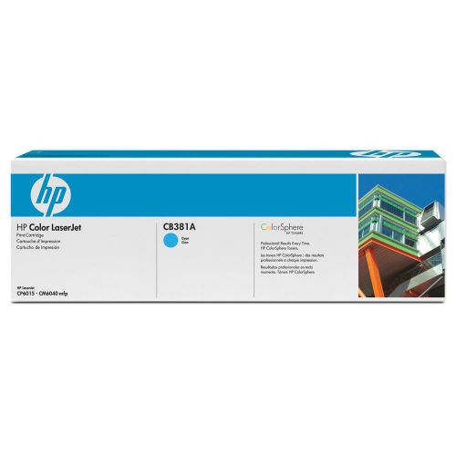 Hewlett Packard [HP] No. 824A Laser Toner Cartridge Page Life 21000pp Cyan Ref CB381A