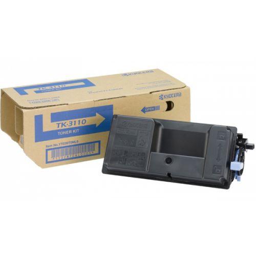Kyocera Laser Toner Cartridge Page Life 15000pp Black Ref TK-3110