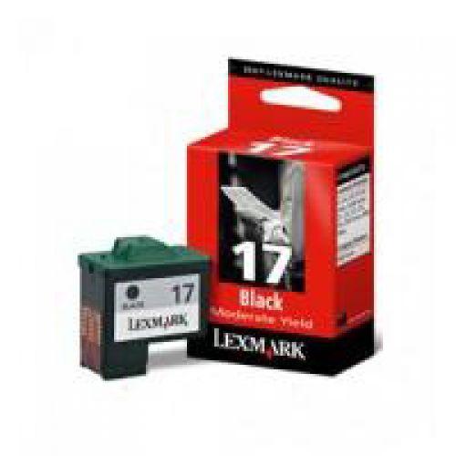 Lexmark No. 17 Inkjet Cartridge Page Life 205pp Black Ref 10NX217E