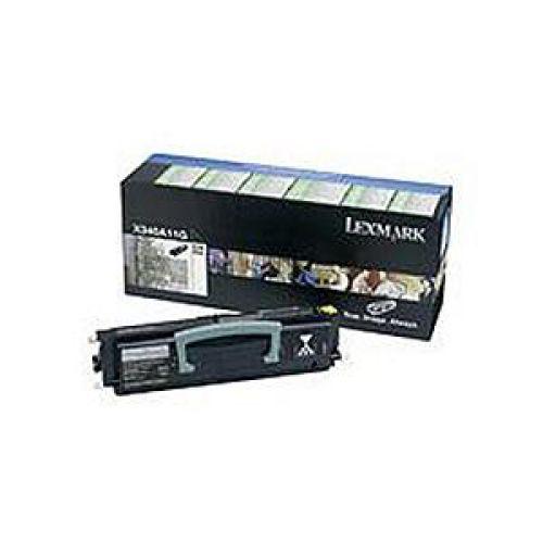 Lexmark Laser Toner Cartridge Return Program Page Life 2500pp Black Ref X340A11GG