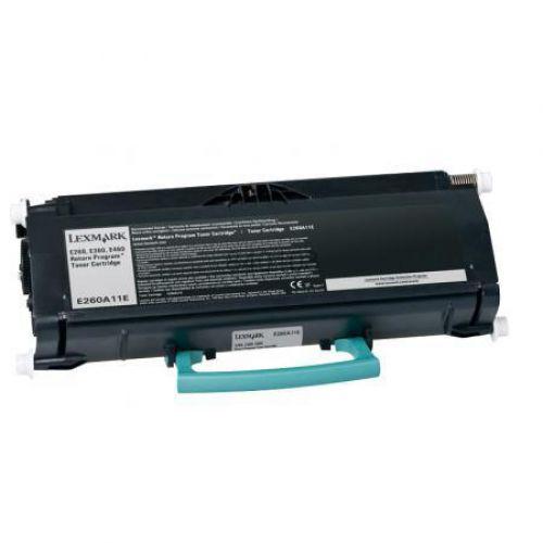 Lexmark Laser Toner Cartridge Page Life 3500pp Black Ref E260A11E