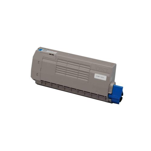 OKI Laser Toner Cartridge Page Life 11000pp Cyan Ref 44318607