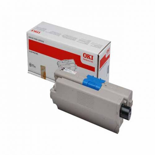 OKI Laser Toner Cartridge Page Life 7000pp Black Ref 44973508