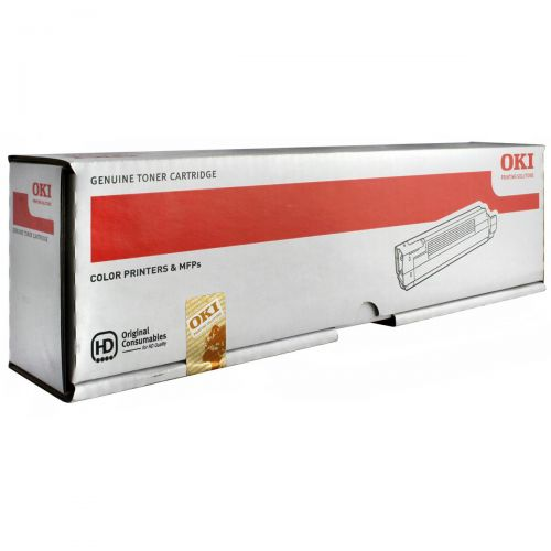 OKI Laser Toner Cartridge Page Life 7300pp Cyan Ref 44643003