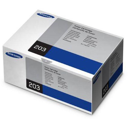 Samsung Laser Toner Cartridge Page Life 3000pp Black Ref MLT-D203S/ELS