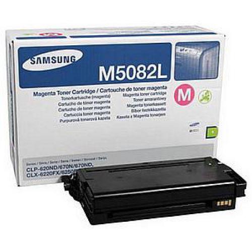 Samsung Laser Toner Cartridge High Yield Page Life 4000pp Magenta Ref CLT-M5082L/ELS