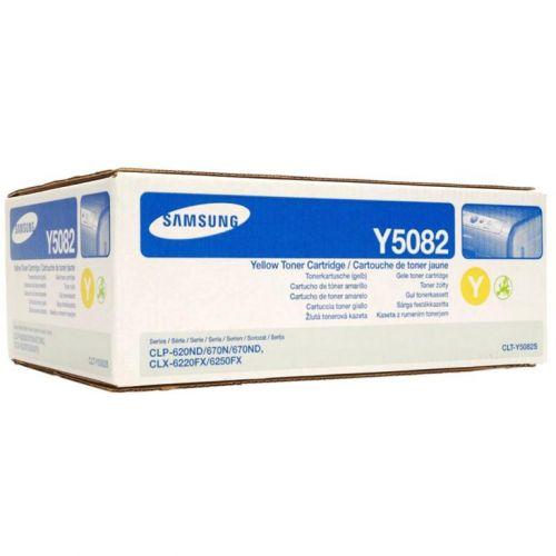 Samsung Laser Toner Cartridge Page Life 2000pp Yellow Ref CLT-Y5082S/ELS