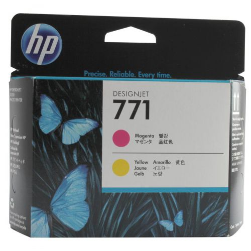 HP 771 Magenta and Yellow Printhead for DesignJet Printers Ref CE018A *3 to 5 Day Leadtime*