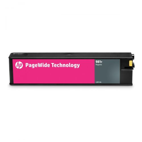 HP 981Y Extra High Yield Magenta Original Page Wide Cartridge L0R14A *3 to 5 Day Leadtime*