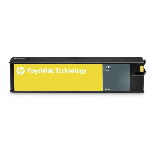 HP 981Y Extra High Yield Yellow Original PageWide Cartridge L0R15A *3 to 5 Day Leadtime*