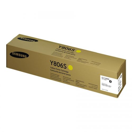 Samsung SL-X7400GX Toner Cartridge Yellow Ref CLT-Y806S/ELS *3 to 5 Day Leadtime*
