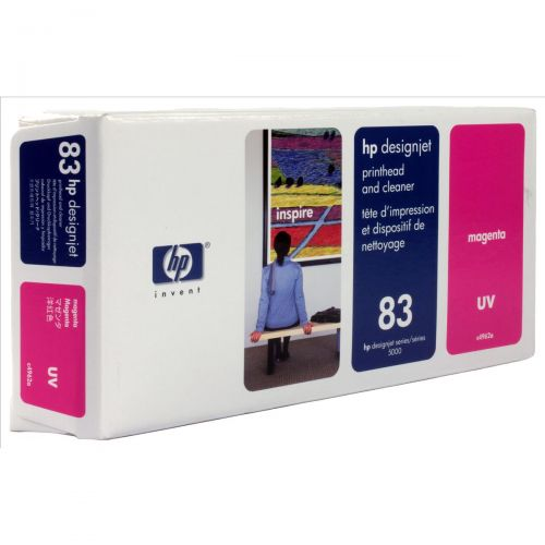 HP 83 Magenta UV Printhead 13ml for DesignJet 5000 Ref C4962A *3 to 5 Day Leadtime*