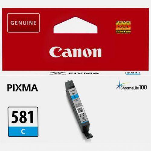 Canon CLI-581 Inkjet Cartridge Page Life 259pp Cyan Ref 2103C001