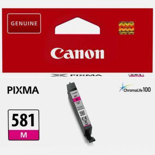 Canon CLI-581 Inkjet Cartridge Page Life 259pp Magenta Ref 2104C001