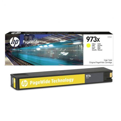 Hewlett Packard [HP] No.973X Inkjet Cartridge High Yield Page Life 7000pp Yellow Ref F6T83AE
