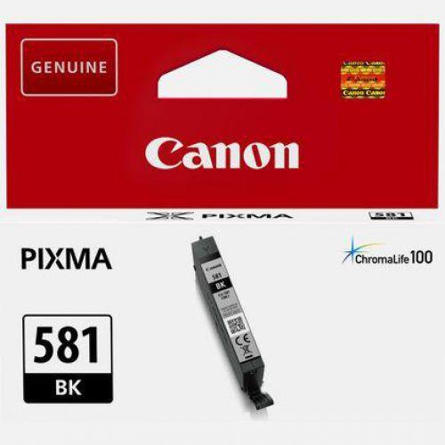 Canon CLI-581 Inkjet Cartridge Page Life 750pp Black Ref 2106C001