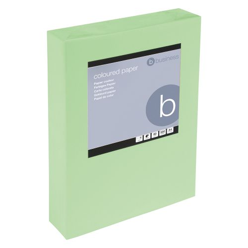 Business Copier Paper Tinted 80gm A4 Bright Green [500 Sheets]