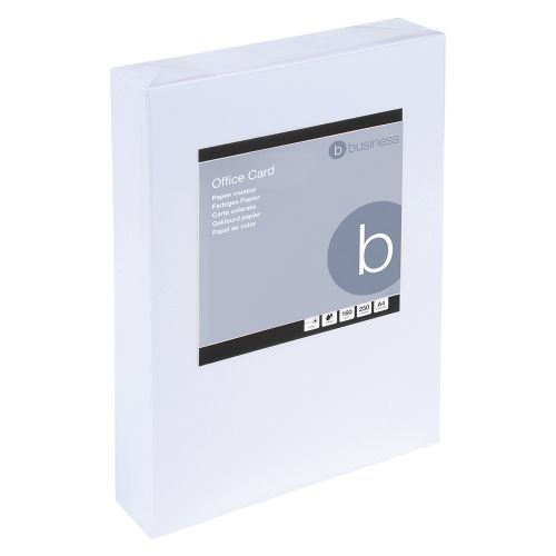 Business Card Multifunctional 160gsm A4 White [250 Sheets]