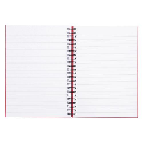 Business Manuscript Book Wirebound Ruled 160 Pages A5 [Pack 5]
