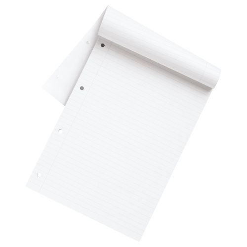Business Eco Refill Pad Punched 4 Holes Ruled A4 [Pack 10]