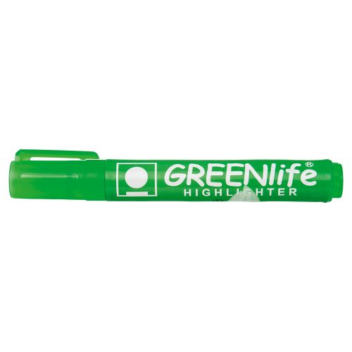 Business Eco Highlighter 1-5mm Line Green [Pack 10]