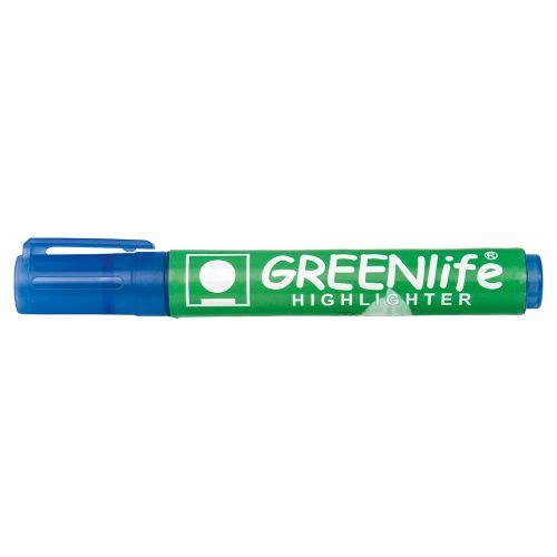 Business Eco Highlighter 1-5mm Line Blue [Pack 10]