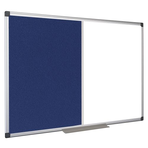 Business Combination Board Drywipe/Felt 900x600mm