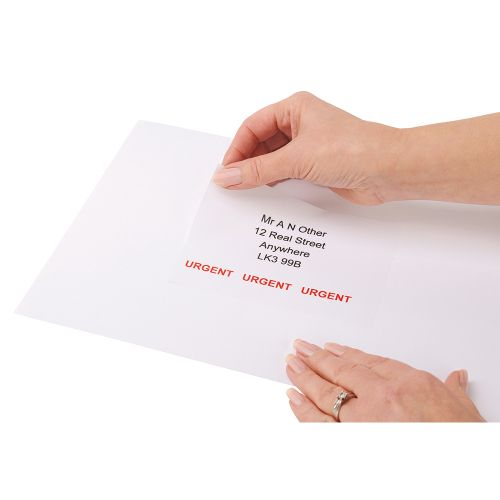 Business Multipurpose Labels Laser 4 per Sheet 105x148.5mm White [400 Labels]