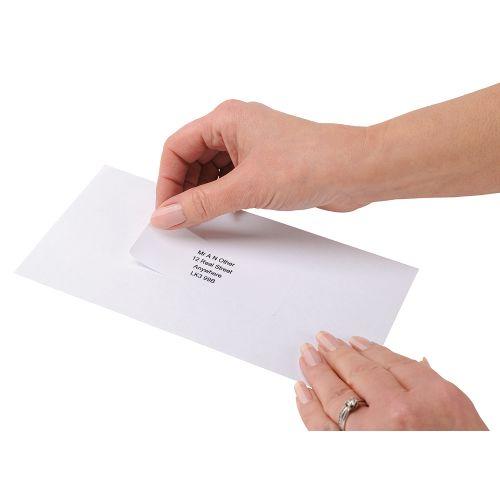 Business Addressing Labels Inkjet 14 per Sheet 99.1x38.1mm White [1400 Labels]