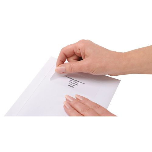 Business Addressing Labels Inkjet 16 per Sheet 99.1x34mm White [1600 Labels]