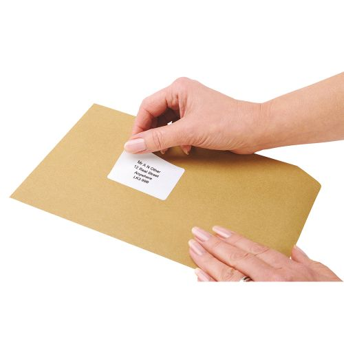 Business Multipurpose Labels Laser 18 per Sheet 63.5x46.6mm White [1800 Labels]