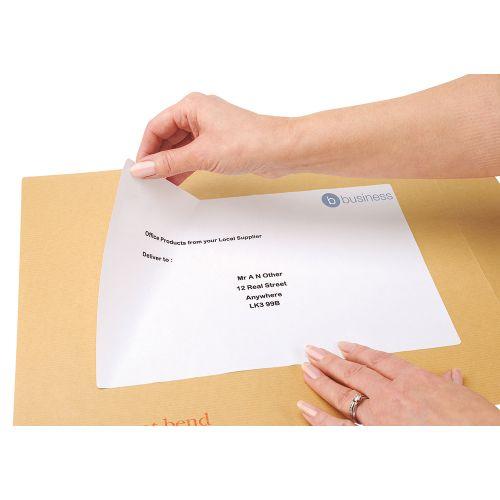 Business Multipurpose Labels Laser 1 per Sheet 199.6x289.1mm White [100 Labels]