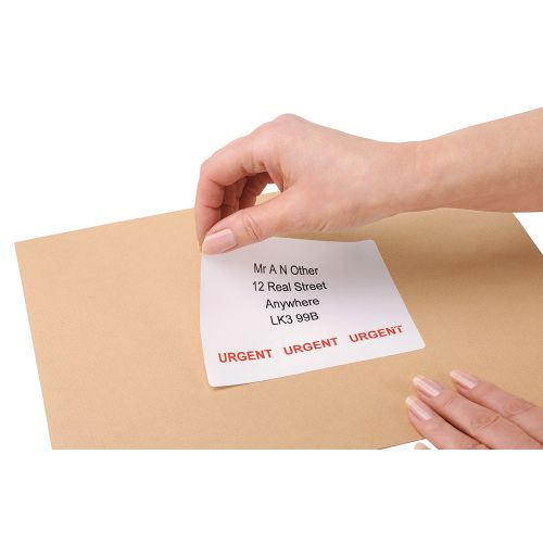 Business Multipurpose Labels Laser 4 per Sheet 139x99.1mm White [400 Labels]