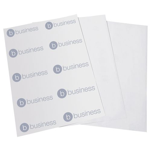 Business Multipurpose Labels Laser Copier Inkjet 6 per Sheet 99x93mm White 600 Labels [Pack 100]