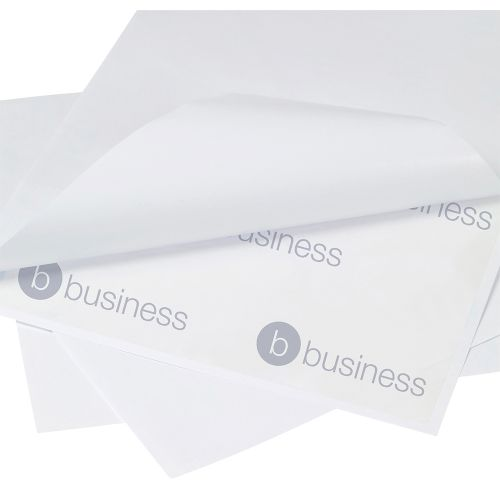 Business Multipurpose Labels Laser Copier and Inkjet 1 per Sheet 200x288mm White [Pack 500]