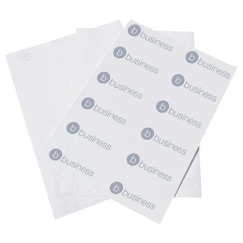 Business Spine Labels for Lever Arch File 4 per Sheet 194x62mm [400 Labels]