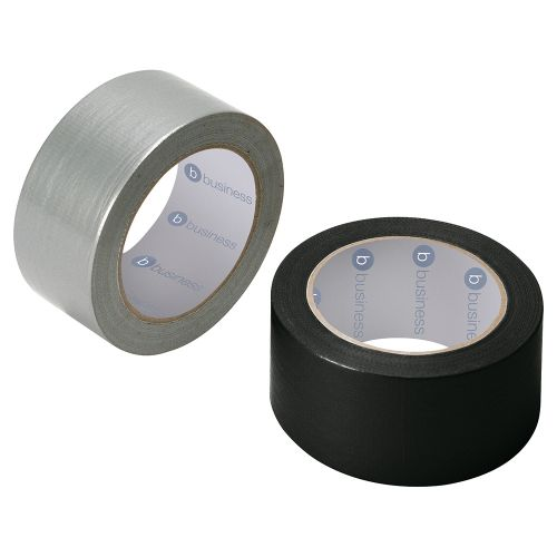 Business Cloth Tape Heavyduty Waterproof Tearable Multisurface 50mmx50m Silver