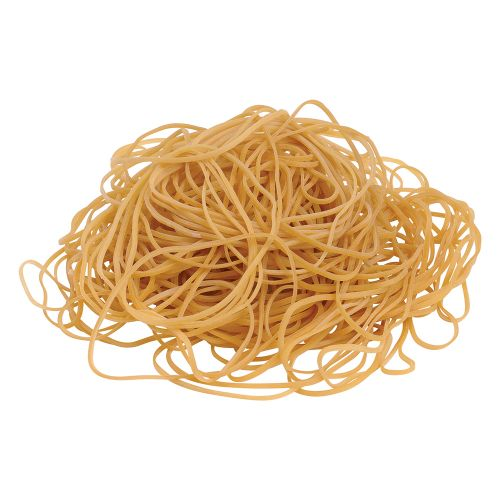 Business Rubber Bands No.19 Each 89x1.5mm Approx 1335 Bands [Bag 0.454kg]
