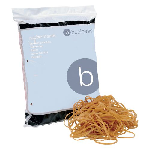 5 Star Rubber Bands No.33 Each 89x3mm Bag 0.454kg Brand New